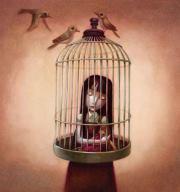in-gabbiacome-un-uccello-in-gabbiami-lascio-c-L-80BlVU