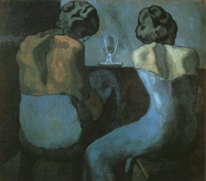 picasso-due-donne-sedute-in-un-bar-1902
